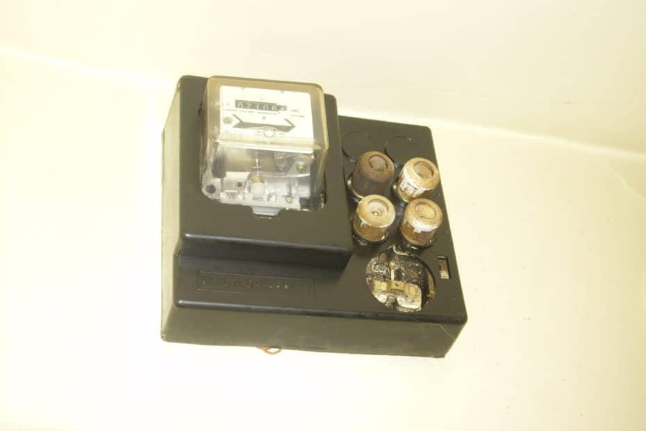 Instalatie electrica veche